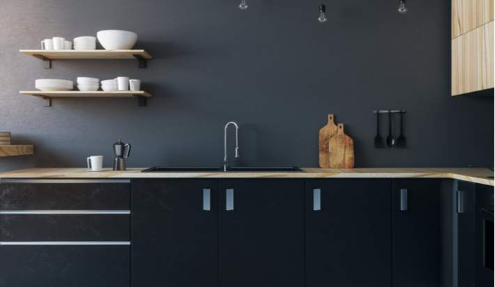 Making an Outdated Kitchen Contemporary