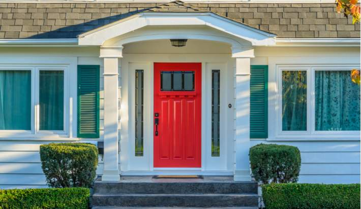 Paint Your Front Door to Add Curb Appeal