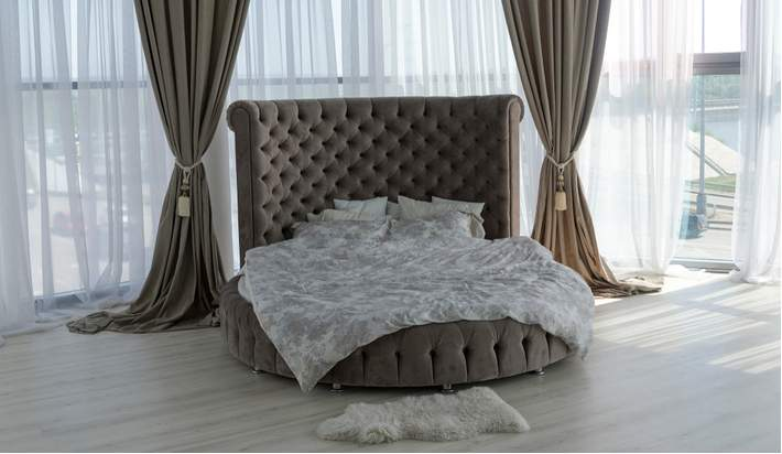 A Trendy Spin for Your Bedroom Furniture