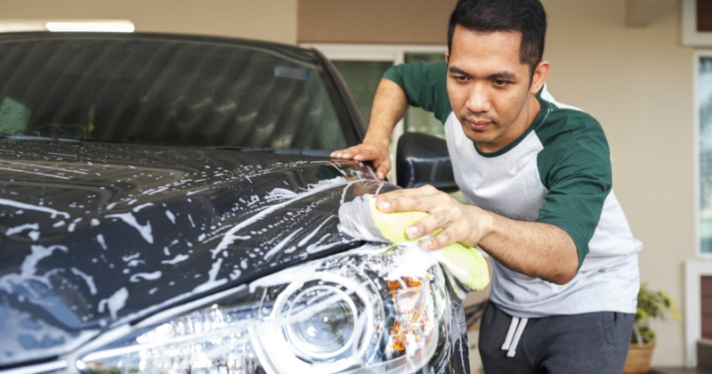 5 Tips for a Great At-Home Car Wash