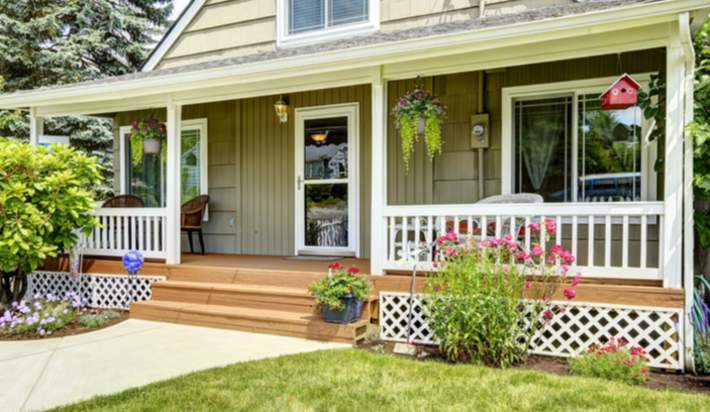 Freshen Up the Front Porch for Summer